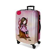 Valise Moyenne Rigide 67cm Gorjuss Wishing and Hoping, 45x67x26 cms, Multicolore