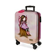 Santoro Gorjuss Wishing and Hoping Valise Trolley Cabine Multicolore 37x55x20 cms Rigide ABS Serrure TSA 33L 2,6Kgs 4 roues doubles Bagage à main